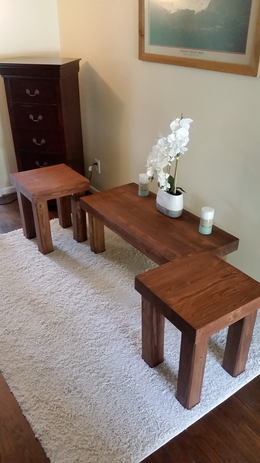 pine coffee table set rustic pine coffee table set tables fh
