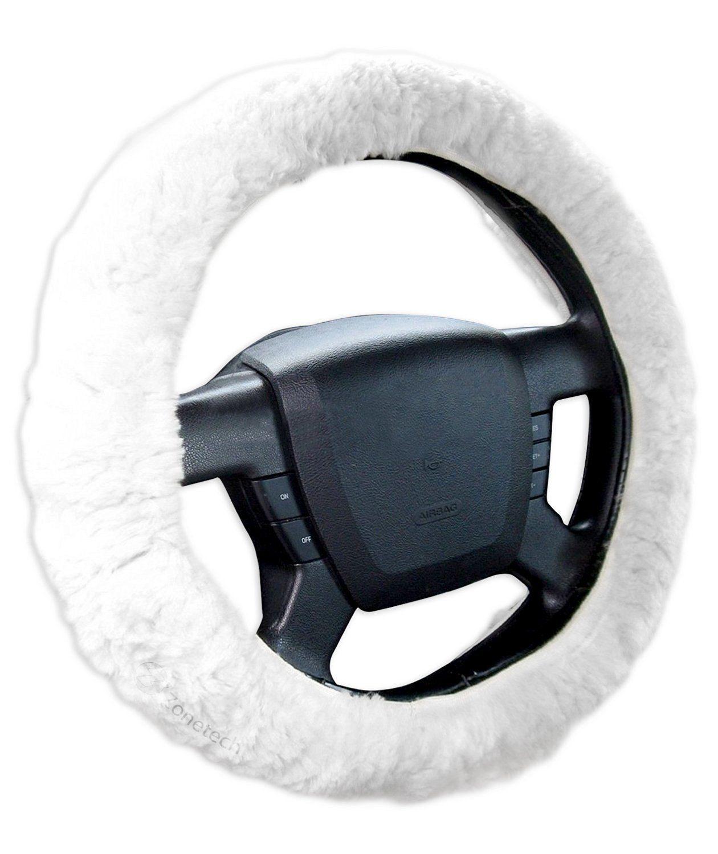 Zone Tech Steering Wheel Spinner Black Silicone Power Handle Silicone Brodi Knob