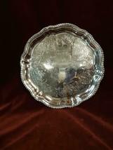 Vintage Silver Plated Carved Serving Dish - $42.31