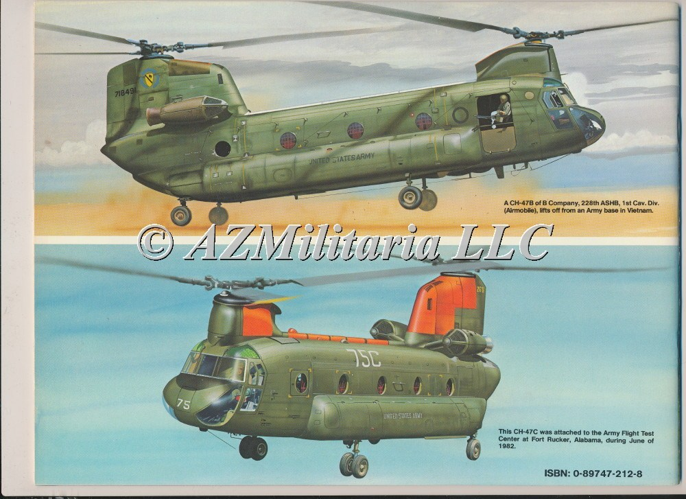 CH-47 Chinook In Action Aircraft No. 91