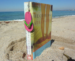 Whimsical Pink Flip Flop Bookmark - $6.00