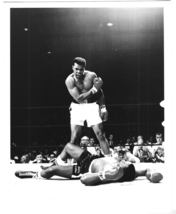 Muhammad Ali Sonny Liston Maine 1965 Vintage 16X20  BW Boxing Memorabilia Photo - $29.95