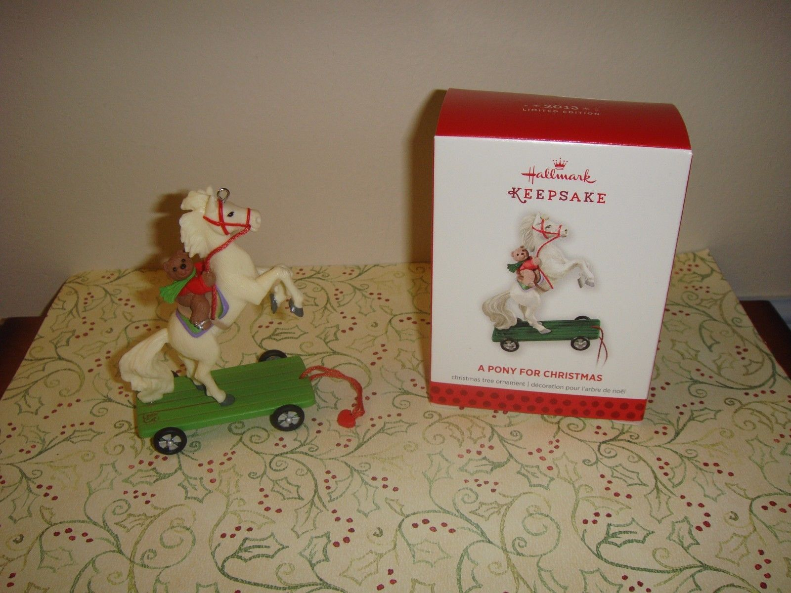 Primary image for Hallmark 2013 Limited Edition A Pony For Christmas Ornament