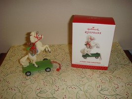 Hallmark 2013 Limited Edition A Pony For Christmas Ornament - $22.99