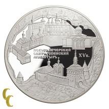 2007 Sterlingsilber 925 Russland 25 Rubel Andenken Medaille - $400.21