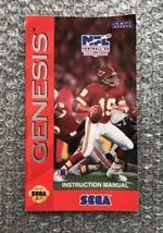 NFL Football '94 Joe Montana **ORIGINAL MANUAL ONLY** Sega Genesis LIGHT... - $4.27