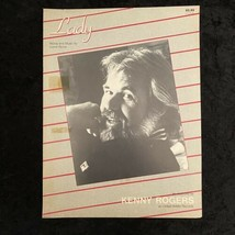 Lady Words Music Lionel Richie Recorded By Kenny Rogers Sheet Music1980 - $9.89