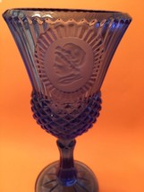 "Fostoria Glass Exclusive Avon Cobalt Blue Glass Martha Washington 8""  - $7.92"