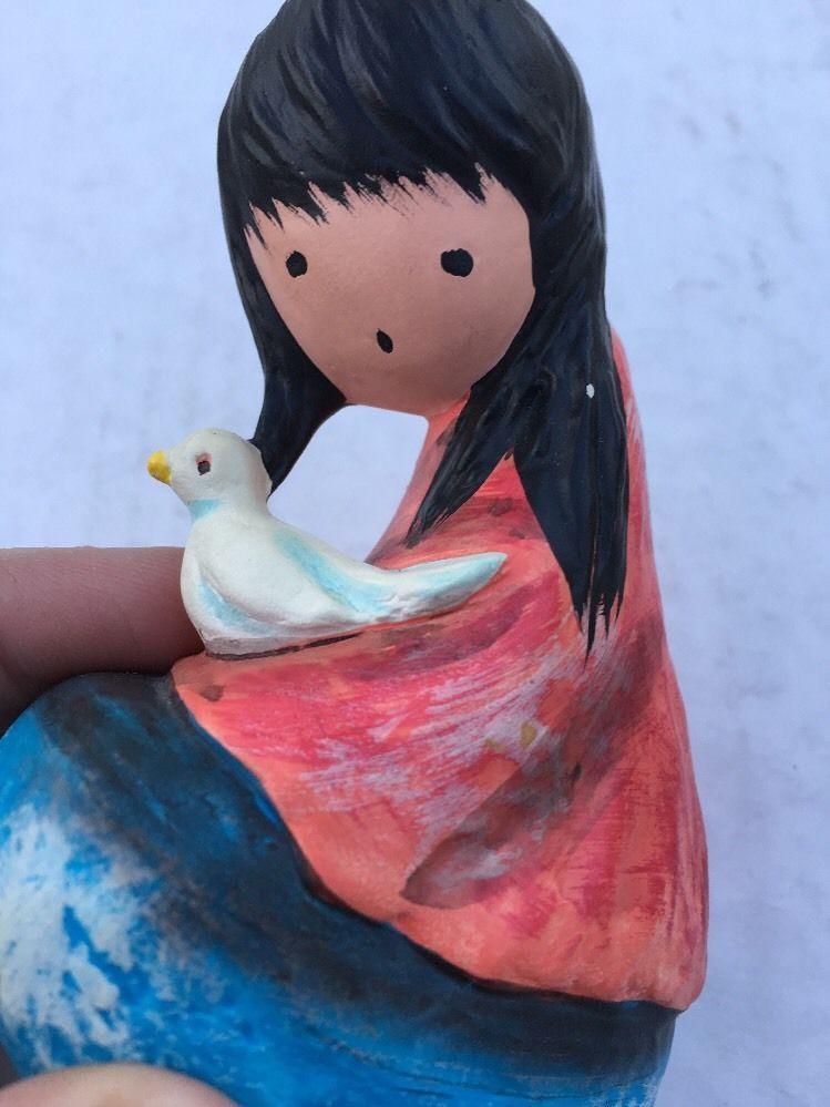 Goebel DeGazia The White Dove Figure Made in Japan