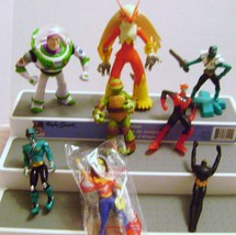 Comic Book Heroes Action Figures - $12.00