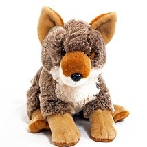 "WISHPETS Stuffed Animal - Soft Plush Toy for Kids - 13"" Timberwolf - $14.50"