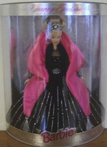 1998 HOLIDAY BARBIE DOLL 1st Holiday dressed in Black Gown NRFB - $21.78