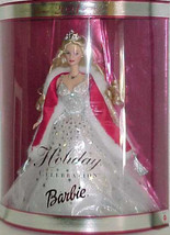 2001 HOLIDAY BARBIE DOLL 1st Holiday dressed in Shimmering WhiteGown NRFB - $48.51