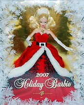 2007   HAPPY HOLIDAYS SPECIAL ED. Red Velvet   BARBIE  NRFB - $39.59