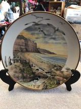 """February on the Coast "" By Peter Barrett, 1979 Franklin Plate - $18.75"