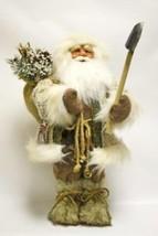 "Brown ivory Santa Claus doll  Season's Designs 18"" 4214218 - $63.99"
