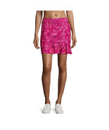Made For Life Geometric Golf Skort Size PXL New Neon Berry - $23.18