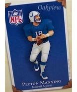 Hallmark 2004 Football Legends #10 Peyton Manning NFL Colts Ornament NIB... - $49.95