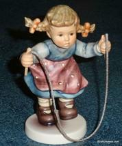 """Jump For Joy"" Goebel Hummel Figurine #2048/A TMK8 Girl Jumping Rope - A... - $184.29"
