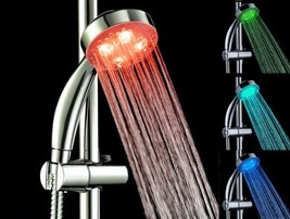 LED Color Changing Shower Head Showerhead Romantic Decorative New - $12.82