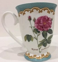 Kent Pottery Rosa Gallica Officinalis Pedestal ... - $18.79