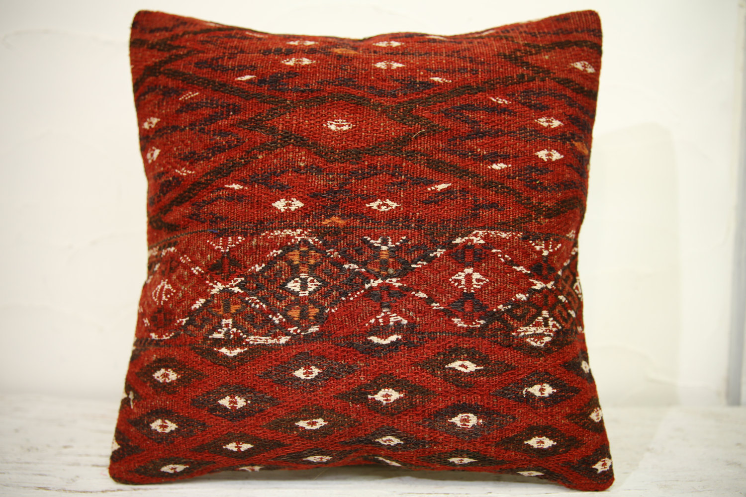 Kilim Pillows | 16x16 | Turkish pillows | 1255 | Accent Pillows , kilim cushion