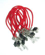Kabbalah 10 pcs Lot Red String Hamsa Mazal Shema Lucky Charm Evil Eye Bracelet image 1