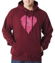 You're My Person Love Pink Unisex Hoodie S-3XL maroon - $31.00+