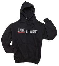 DARK AND TWISTY Unisex Hoodie S-3XL BLACK - $31.00