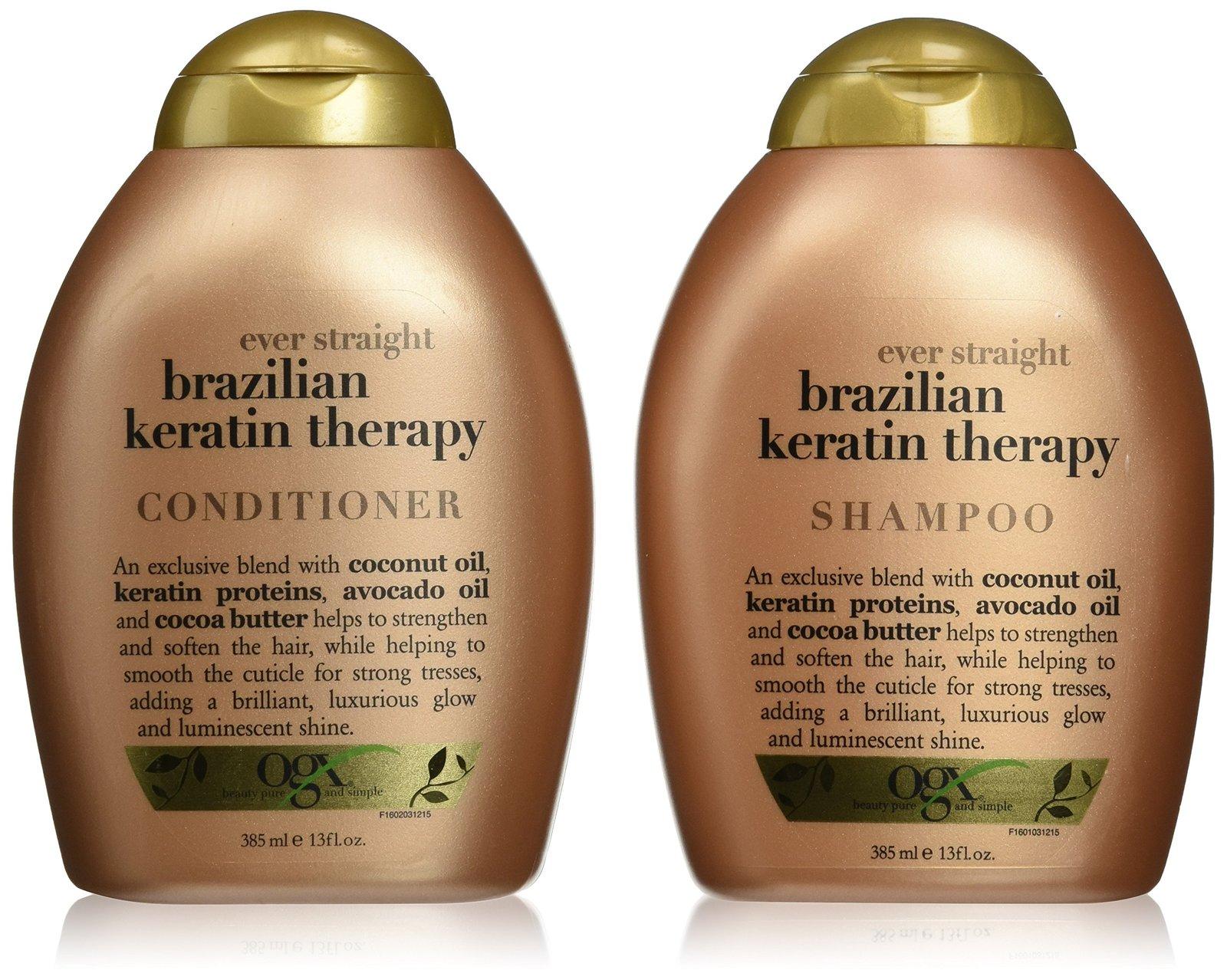 Organix Ever Straight Brazilian Keratin Therapy Shampoo