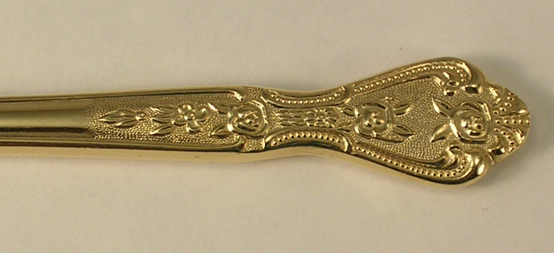 Stanley Roberts Modern Solid Dinner Knives in the Gold Royalty Pattern