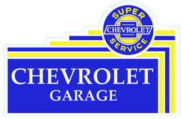 Chevrolet Garage Plasma Cut Metal Sign - $50.00