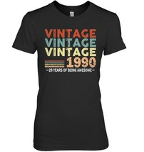 28th Birthday Gifts Vintage 1990 Shirts 28 Yrs Old Men Women - $19.99+