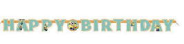Despicable Me 2 Minions Party Supplies Jointed Banner 12 Ft - $4.99