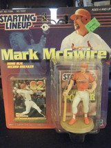 Hasbro Starting Lineup Mark McGwire 1999 Action Figure & Card - New in P... - $11.87