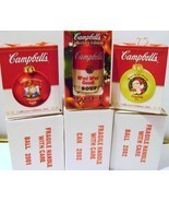 Campbell's Soup Ornaments - $20.00