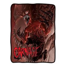 Spider-Man Toxin Carnage Fleece Throw Blanket - $31.67