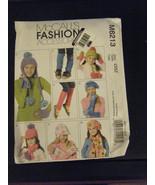 McCall's M6213 Girl's Leg Warmers, Hats, Scarves, Fingerless Gloves Pattern - $5.35