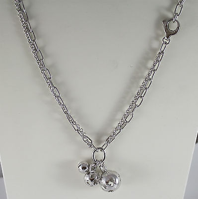 ROBERTO GIANNOTTI SFA31GIR 925 SILVER NECKLACE WITH 3 ANGELS CALL, MADE IN ITALY