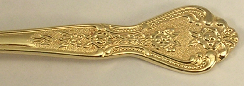 Stanley Roberts Teaspoons in the Gold Royalty Pattern Group of 2