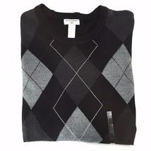 Dockers Argyle Soft Comfort Touch Crewneck Sweater XXL Classic Fit Beige... - $24.74
