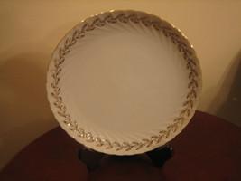 "Vintage Lefton China Golden Laurel Pattern 8 1/4"" Luncheon Plate - $12.86"