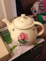 Household Institute Rhythm Rose Tea Pot 1950's ... - $46.75