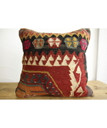 Kilim Pillows | 16x16 | Turkish pillows | 150 | Accent Pillows , kilim c... - $56.00