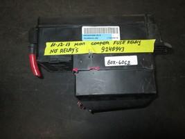 11 12 13 Mini Cooper Fuse Relay No Relays 9240943 *See Item Description* - $29.65