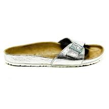 Silver 41 EUR - 11 US Birkenstock Womens Flat Sandal MADRID 43928 - $177.56