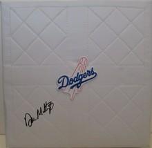 Don Mattingly LA Los Angeles Dodgers Signed Autographed Baseball Base Pr... - $214.17