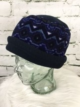 Blue Cold Weather Hat Acorn Tag - $9.89
