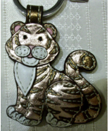 Coach Year of the Tiger Leather Keychain Key Fob 92609 Rare New HTF - $199.00