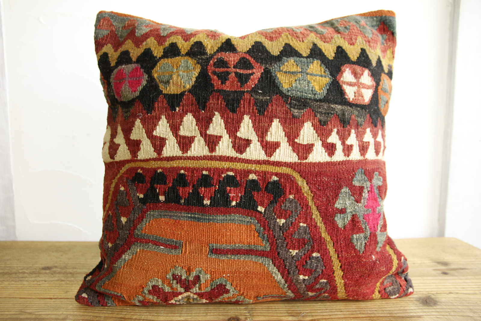 Kilim Pillows | 16x16 | Turkish pillows | 152 | Accent Pillows , kilim cushion